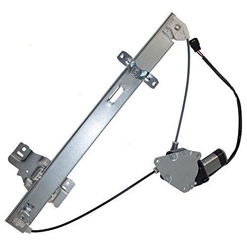 Drivers Rear Power Window Lift Regulator w/Motor ()