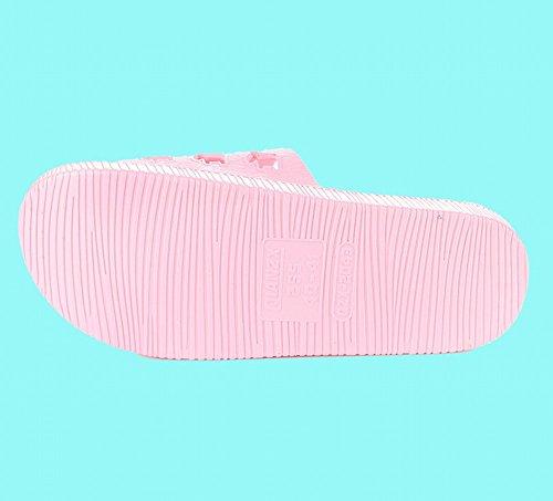 de de Confort Slip Bains 38 UNE Accueil 39 Intérieur Pantoufles D'Été Sandales Traînant Salle Pantoufles Couples Plancher Épais 6q0wR7x18