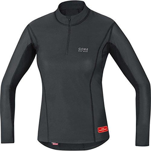 Gore Bike Wear Race (Gore Bike Wear Women's Windstopper  Base Layer Turtleneck Top, Black, Small)