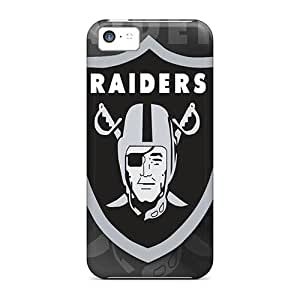 UfB424TYUc Snap On Case Cover Skin For Iphone 5c(oakland Raiders Hd)