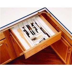 Rev-A-Shelf Trim-To-Fit Cutlery Tray Organizer