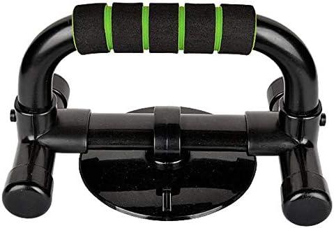 2個セット プッシュアップバー 取り外し可能なプッシュアップフロアワークアウトフィットネスエクササイズトレーニングボディー用バースタンドアップグリッププッシュ 腕立て伏せ筋力アップ器具 (色 : 緑, Size : Free size)