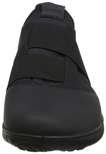 Geox Mens Sneakers U Nebula En Slip På Skor Svarta