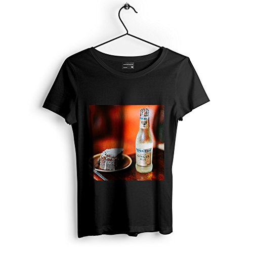 Plum Liqueur (Westlake Art Unisex T-Shirt - Cake Drink - Graphic Tee - Black Adult Medium (e3t ad6 a26))