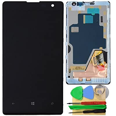 High Quality Replacement Touch Screen Digitizer LCD Full Assembly with Frame for Nokia Lumia 1020
