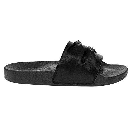 Black SOLESISTER Sandalo Nero Erin Donna qUwwTBIP