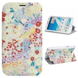 XY-132 PU Leather and Plastic Simple Serious Protective Case for Samsung N7100