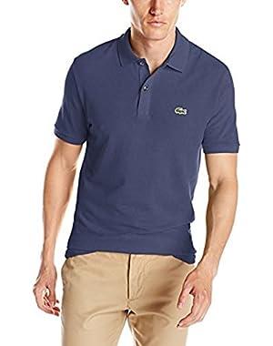 Men's Short Sleeve Slim Fit Pique Polo, Ph4012