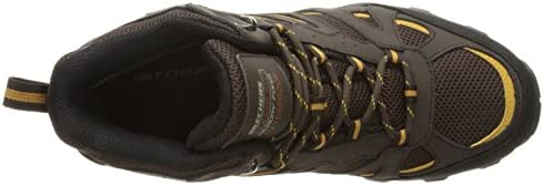 Skechers USA Men's Blais Celek Chukka Boot, Chocolate, 10 M US