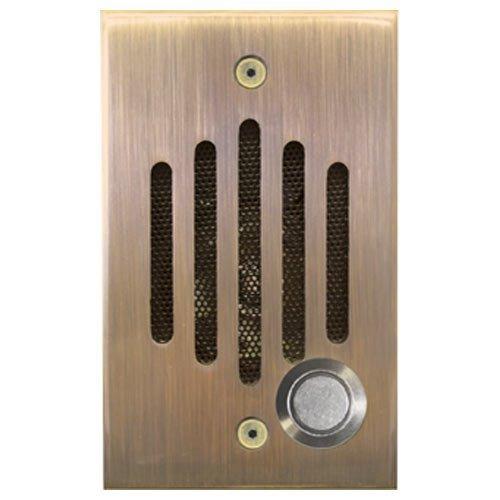 Channel Vision IU Door Speaker, Chrome P-0920/P-0921 Compatible [並行輸入品] B01KBR9J62