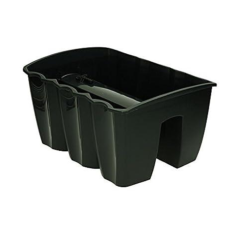 Vasi In Plastica Per Ringhiere.Cassetta Fioriera Da Balcone Ringhiera Vaso Portavaso Piante