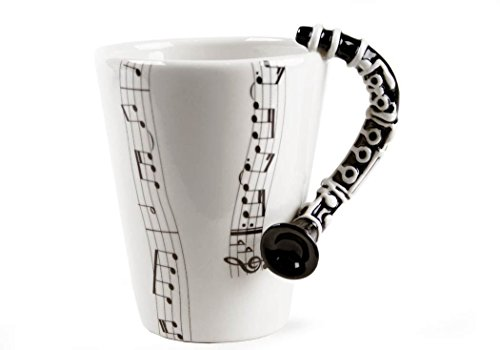 Clarinet Black Handmade Coffee 10cm