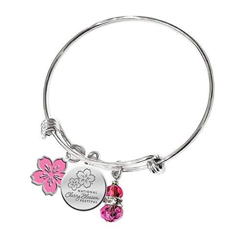 - National Cherry Blossom Festival Bangle Bracelet
