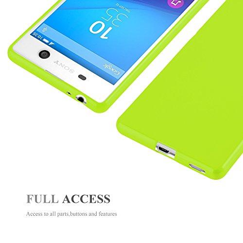 Cadorabo - Cubierta protectora para >                                      Sony Xperia M5                                      < de silicona TPU en Diseño Jelly