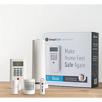 SimpliSafe Basic Home Security 5 Piece Kit
