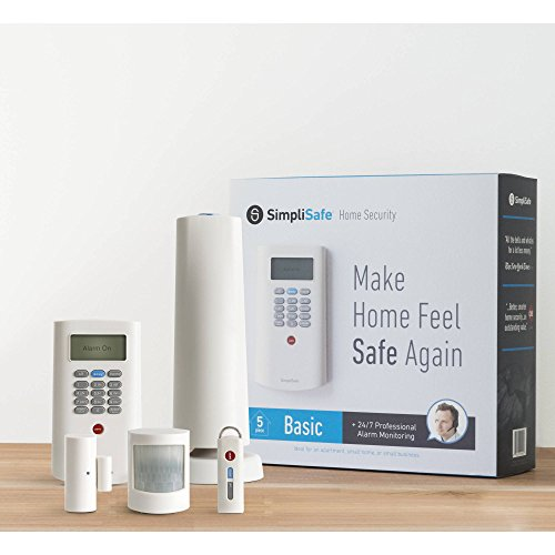 SimpliSafe Basic Home Security 5 Piece Kit