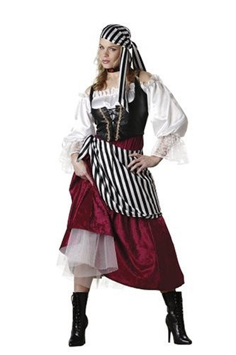Deluxe Pirate Wench Costumes (InCharacter Women's Pirate's Wench Costume, Large)