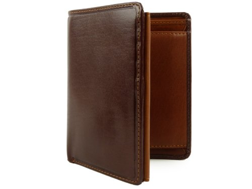Stylish Brown amp; Boxed Top by Torino Collection WALLET MENS LEATHER VISCONTI Gift Tan Quality vwUqvP7