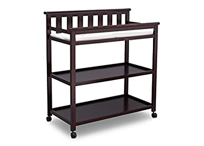 Delta Children Flat Top Changing Table with Casters