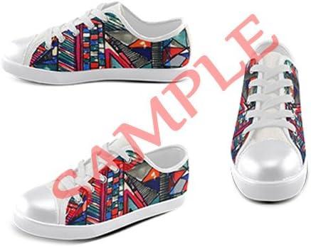 Customized Poppy Flower New Sneaker Canvas Kids Shoes
