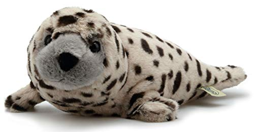 Seal Pup Tiger - VIAHART Simona The Spotted Seal | 15 Inch Animal Plush | by Tiger Tale Toys