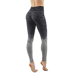 Vesi Star Women's Flexible Exercise Pants (Small, Grey)