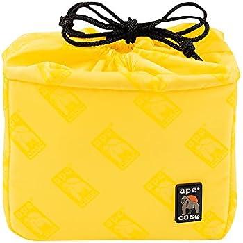 Ape Case Cubeze 33, Camera Insert, Black / Yellow, Interior Case For Cameras (ACQB33)