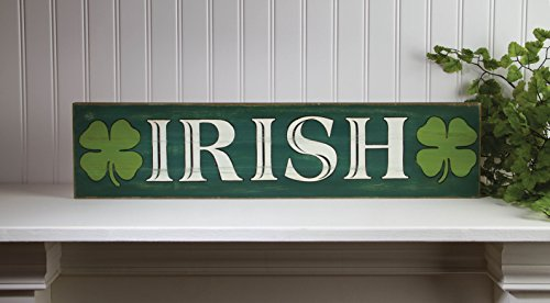 Weathered Irish Wall Plaque Sign
