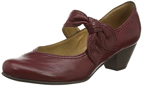 Femme Mary Dark Janes Henrietta 45 Rouge Gabor red 4Awtfqc