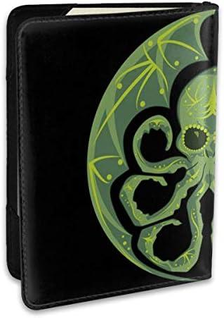 クトゥルフ・シュガースカル Cthulhu Sugar Skull パスポートケース パスポートカバー メンズ レディース パスポートバッグ ポーチ 収納カバー PUレザー 多機能収納ポケット 収納抜群 携帯便利 海外旅行 出張 クレジットカード 大容量