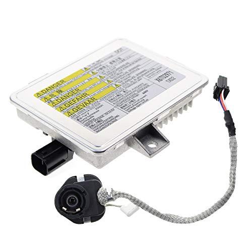 MOTOALL HID Xenon Headlight Ballast Control Unit Module & Igniter for Acura TL TSX Honda S2000 Accord Mazda 3 5 Mitsubishi Grandis X6T02971 X6T02981 W3T10471 W3T12472 W3T11371 W3T14371 D2S D2R -
