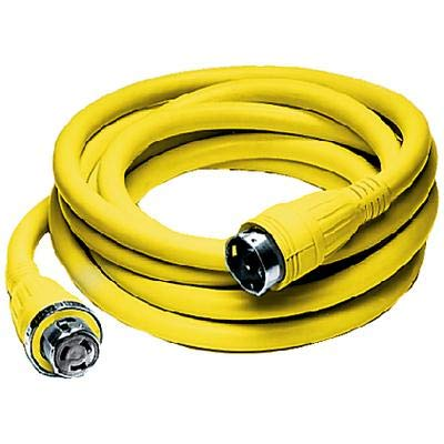 (Hubbell HBL61CM42 50A SHORE POWER CABLE SET / 50A 125/250V 25FT)