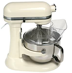 KitchenAid KB26G1XAC Deluxe Edition 6-Quart Bowl Lift Stand Mixer, Almond Cream