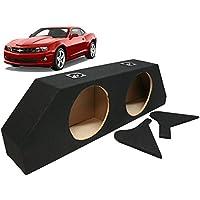 2010-2013 Chevy Camaro Ls Lt Ss Custom Fit Dual 10 Subwoofer Enclosure Sub Box