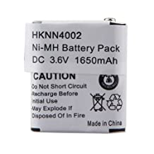 3.6v 1650mAh NiMh High Capacity Two-way Radio Battery for Motorola 56315 HKNN4002 HKNN4002A HKNN4002B KEBT-071-A KEBT-071-B KEBT-071-C KEBT-071D by TOPCHANCES