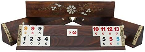 Antochia Crafts Classy Rummy Cube Board Game Set Turkish Okey