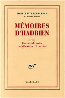 """Mémoires d'Hadrien ; suivi des Carnets de notes des """"Mémoires  d'Hadrien"""", Yourcenar, Marguerite"""