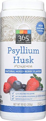 365 Everyday Value, Psyllium Husk Powder Mixed Berry, 10 oz