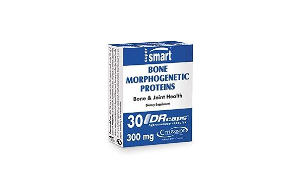 Supersmart - Bone Morphogenic Proteins 300 mg Por Día - Cyplexinol® - Articulaciones & Fortalecimiento de los Huesos – Apoya a la Regeneración del ...