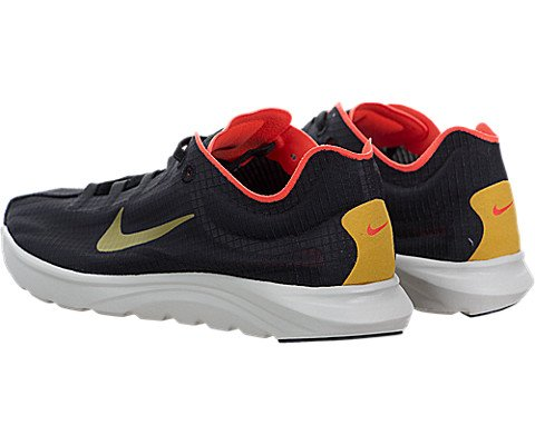 Nike Womens Mayfly Lite Si Casual Scarpa Nera / Oro Dardo Totale Cremisi-luce