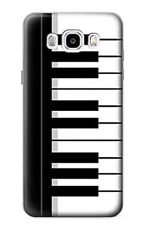 Innovedesire Black and White Piano Keyboard Funda Carcasa ...