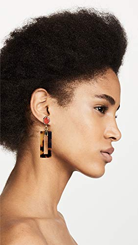 Jewelry Trends For Fall. Elizabeth Cole Women's Effie Earrings, Tortoise/Orange, One Size #jewelrytrends
