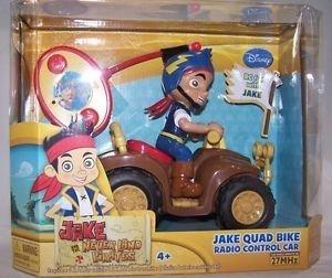 by Jada Jake Never Land Pirates Jake Quad Bike Radio Control Car 27 Mhz 4
