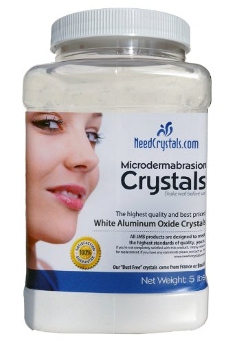 NeedCrystals Microdermabrasion Crystals (5 lb, 100 - Microdermabrasion Creme