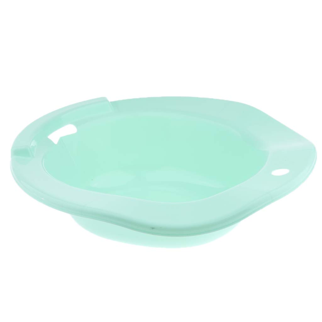 CUTICATE Sitz Bath Over-The-Toilet Perineal Soaking Tub, for Hemorrhoids, Pregnant Women, Elderly and Patients - Green by CUTICATE