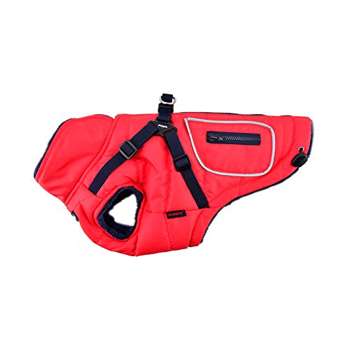 Puppia Pioneer Pet Coat, Large, Red by Puppia (Image #2)