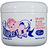 Diaprex Diaper Rash Ointment 4oz Jar - Trusted by Moms for over 50 years