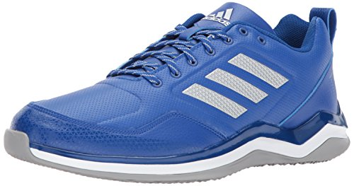 adidas Men's Freak X Carbon Mid Cross Trainer Collegiate Royal, Silver met, FTWR White 12 M US