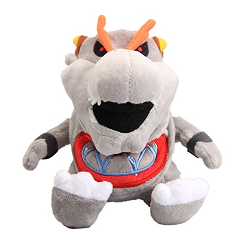 Bowser Bones - UiUoU Super Mario Bros. Baby Dry Bones Bowser JR Gray Koopa 7'' Plush