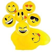 "Splat Emoji Ball de 2.5 ""(paquete de 12)"